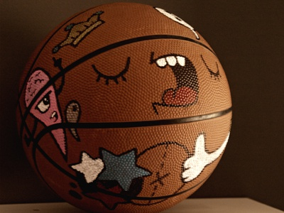 My Basketball cartoon carnivorum illustration basket ball
