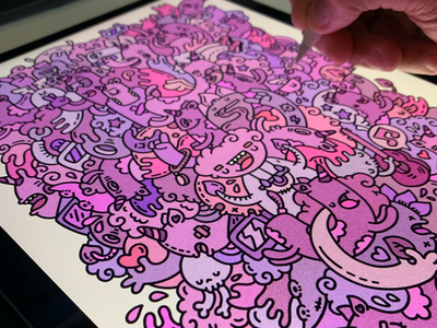 Ipad Doodle working