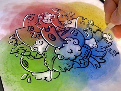 Doodleart color