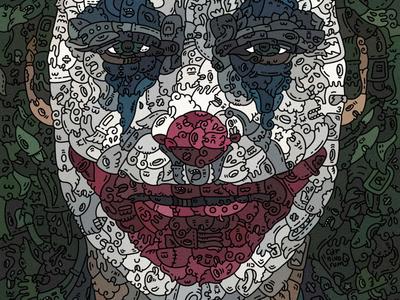 doodleart Jocker by @carnivorum