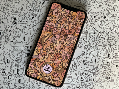 my iphone 100% carnivorum digitalart wallpaper iphone art ilustración doodleart carnivorum