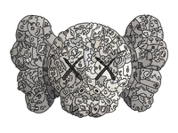 Kaws doodleart illustration
