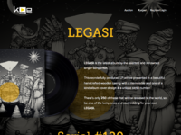 Vinyl page
