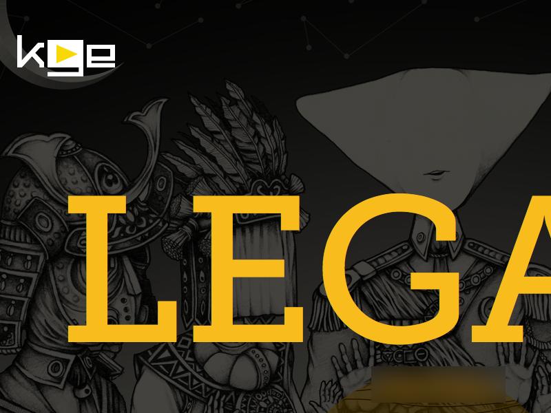 Legasi landing page (WIP) website ui user interface yellow museo slab