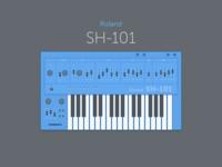 Roland SH 101