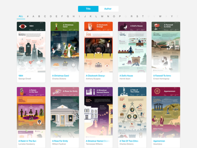 Infographic Landing Page