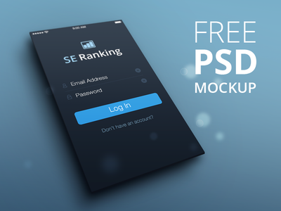 Perspective Mockup - FREE PSD