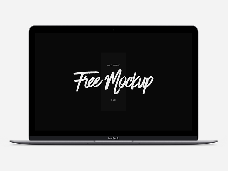 MacBook - 12 Scalable Mock-up scalable mock-up download template macbook vector retina psd mockup free device apple