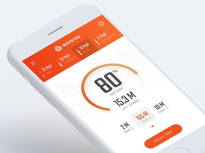 Boosted Boards: iOS Redesign