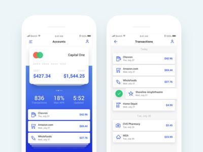 Transaction Manager - iOS App - vol. 2