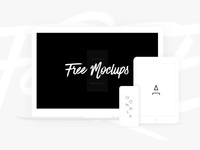 devices mockups iphonex - Free White Devices Mockups - Sketch & PSD
