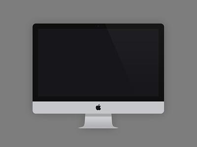 Flat Devices - Free Mockups flat design ui template mockup iphone imac ipad macbook mini minimalistic freebie free psd laptop layered retina