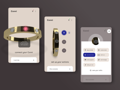 Connect and Set Up  ●  Conni, the Smart Bracelet
