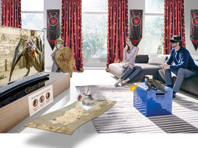 Game of Thrones meets A.R. ● [Archive '16] ideas future thoughtexperiment gameofthrones experience hololens entertainment television enhance concept augmentedreality reality augmented ar