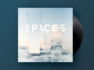 Spaces Mixtape mixtape type techno identity branding cover artwork typography music
