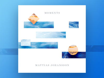 Moments Mixtape mixtape type techno identity branding cover artwork typography music unsplash color ui