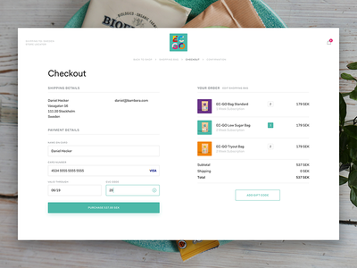Checkout Form ui shopping paypal payment purchase order forms e-commerce ecommerce credit card checkout