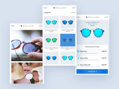 Shopping App freebie checkout ios mobile sketch app ux ui fashion profile commerce shopping