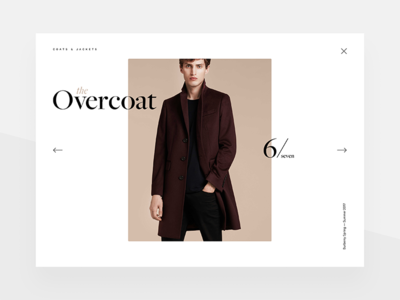 Product Detail product cart shop e-commerce minimal clean app fashion margiela interface store image
