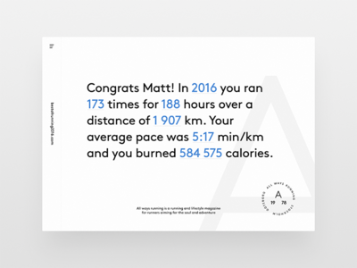 Running Results interface clean web uix ui typography brand results running light website minimal