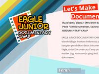 Eagle Jr Landing Page