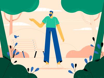 Styleframe motion flat animation design character vector illustration