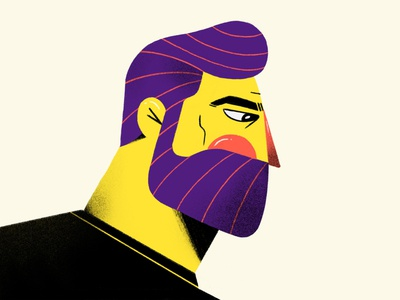 Self illustration design character vector illustration