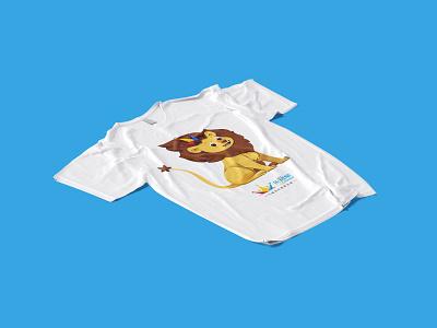 LeChamp - Branding design visual champion sport vi font chinese tshirt mascot logo brand lion