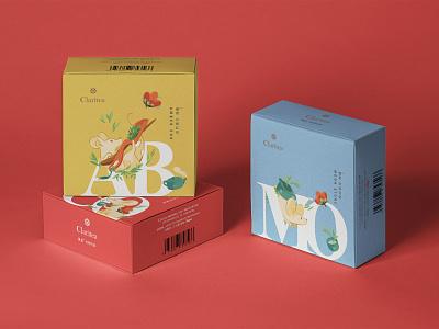 Claritea - Packaging chinese branding mouse tea packaging design packaging