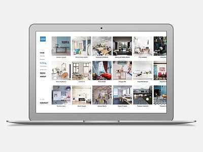 Web Design - Company casestudies company website webdesign web ux ui redesign concept