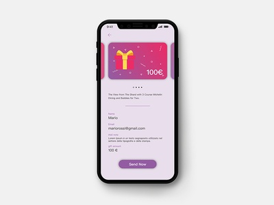 Gifting App Concept