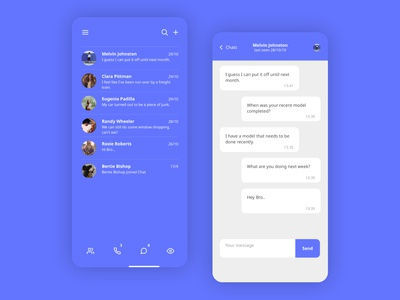 Direct Messaging - UI