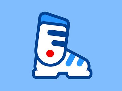 Ski boot moutain skin ski boot