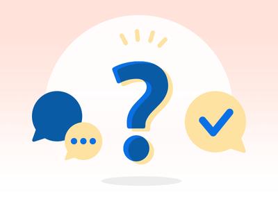 FAQ - Carrefour Design system question faq check chat