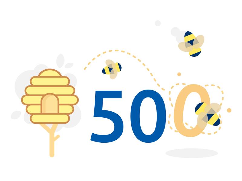 Error 500 - Carrefour Design system carrefour design system error page error 500 hive bee hive bee server 500 error