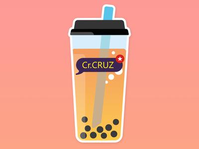 Bubble tea stickers