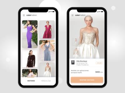 Dress Boutique Concept