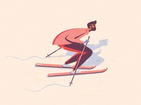 Winter Skiiing