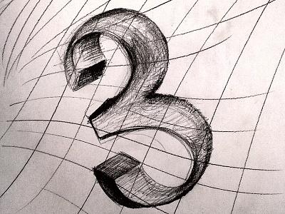 Tripping 3 sketching draft pencil drawing number 3