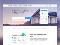 Quizzle Homepage Concept