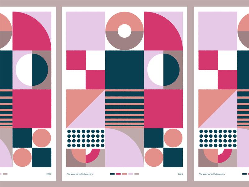 Pattern visual design pattern