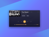 Daily UI challenge — Music Player