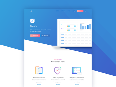 Tabel app - Landing Page interface experience web design study case ux ui page landing homepage