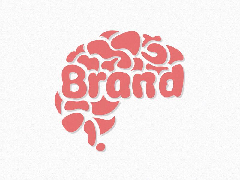 Brandbrain illustration logo sketch color