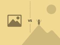 PSD mockups vs HTML/CSS mockups