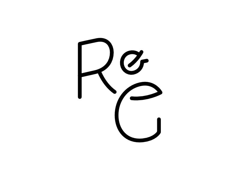 Roaring And Gentle Monogram lettering typography monogram