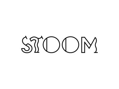 Stoom logo concept concept logo