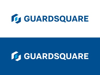 Guardsquare Logo blue symbol logo