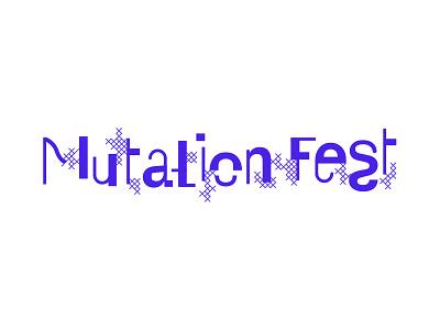 Mutation Fest logo sketch logo