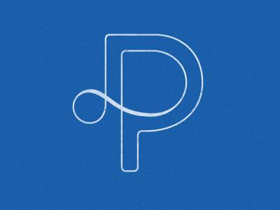 DP Monogram logo monogram branding workinprogress
